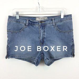 JOE BOXER MISSING POCKETS JEAN SHORTS